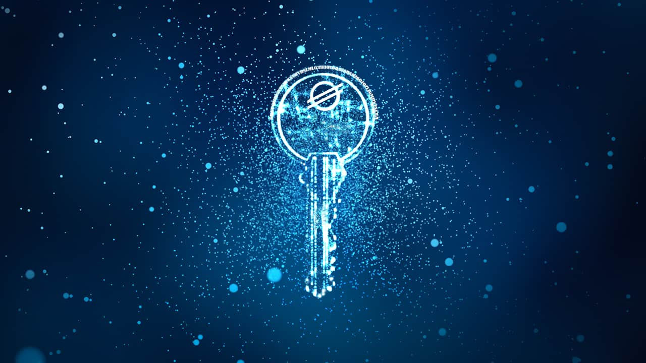 Digital Stellar Secret Key