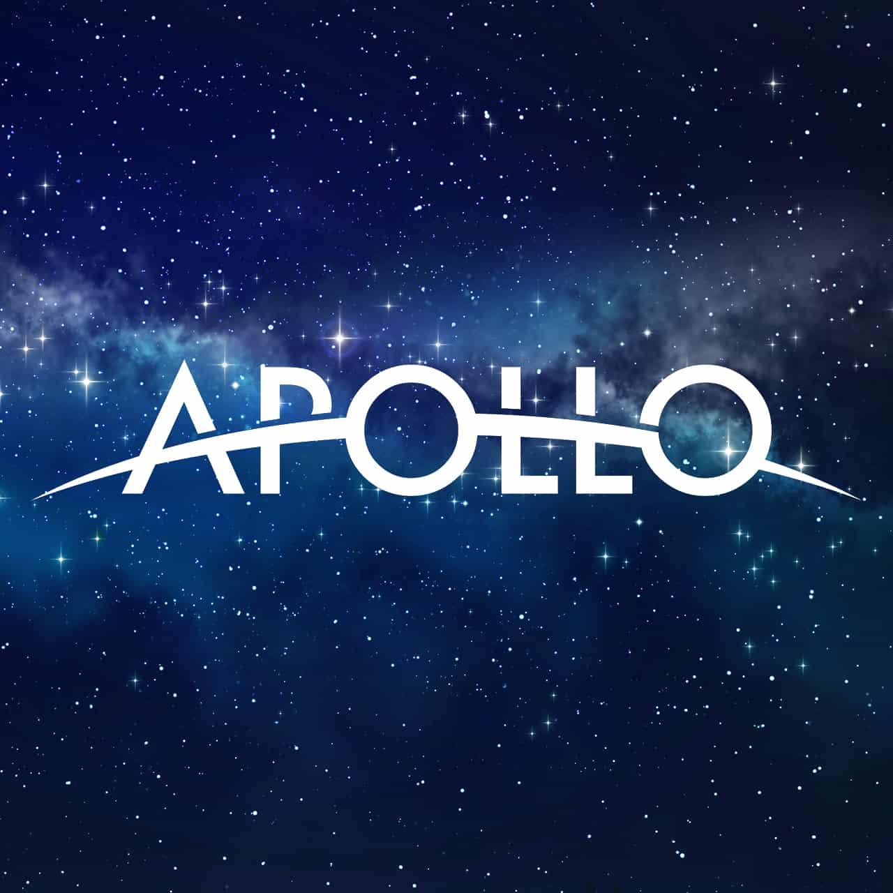 Stars with Apollo NASA Logo