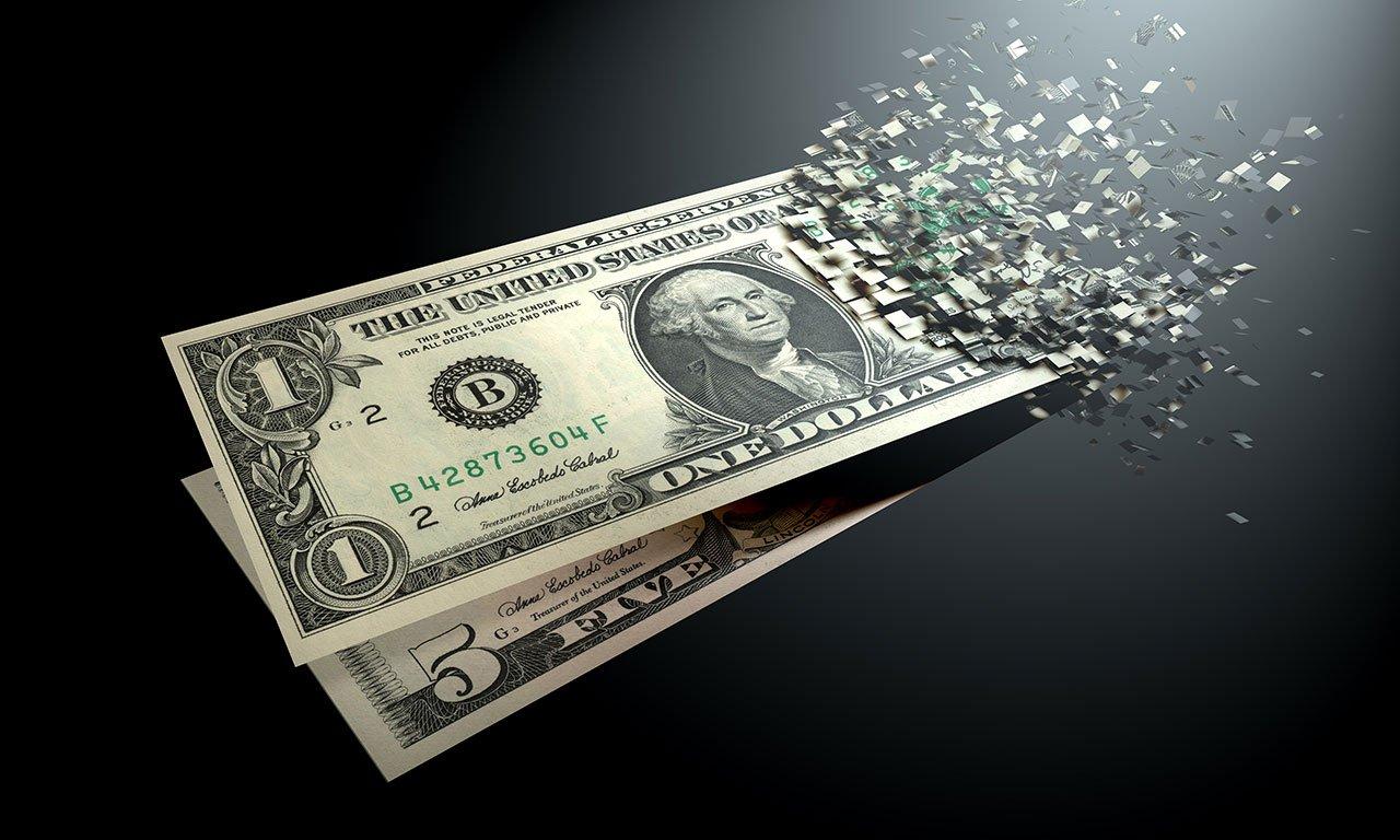 US Dollar turning digital